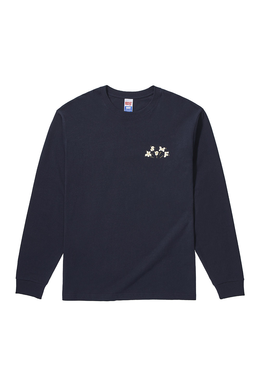 MSCHF_POPCORN LONG SLEEVE_navy