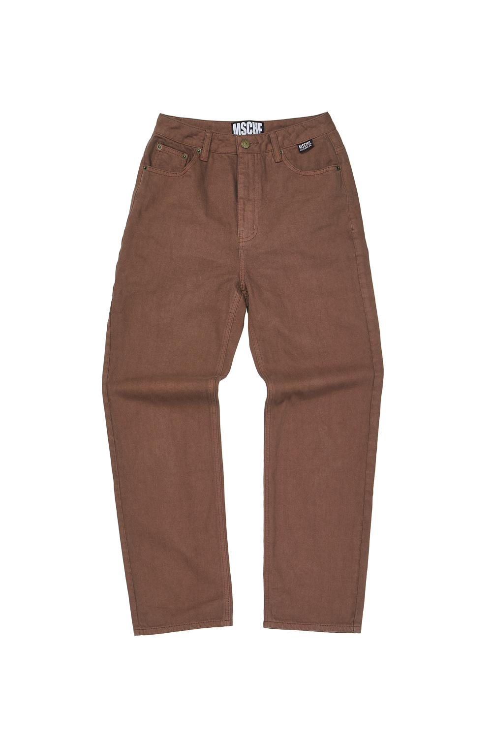 HIGH WAIST PANTS_brown