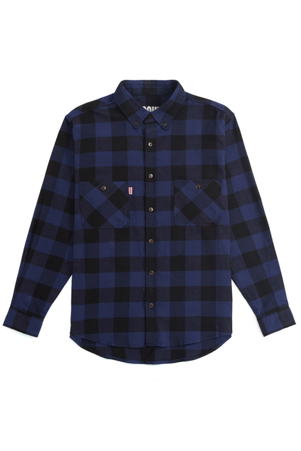 CHECK SHIRT_buffalo check blue
