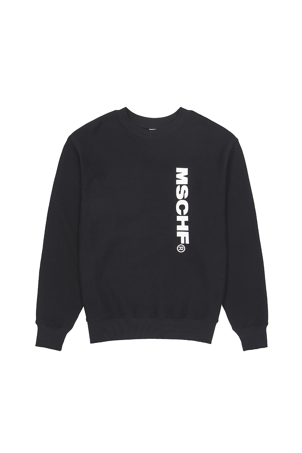 MSCHF_SLOGAN CREWNECK_black