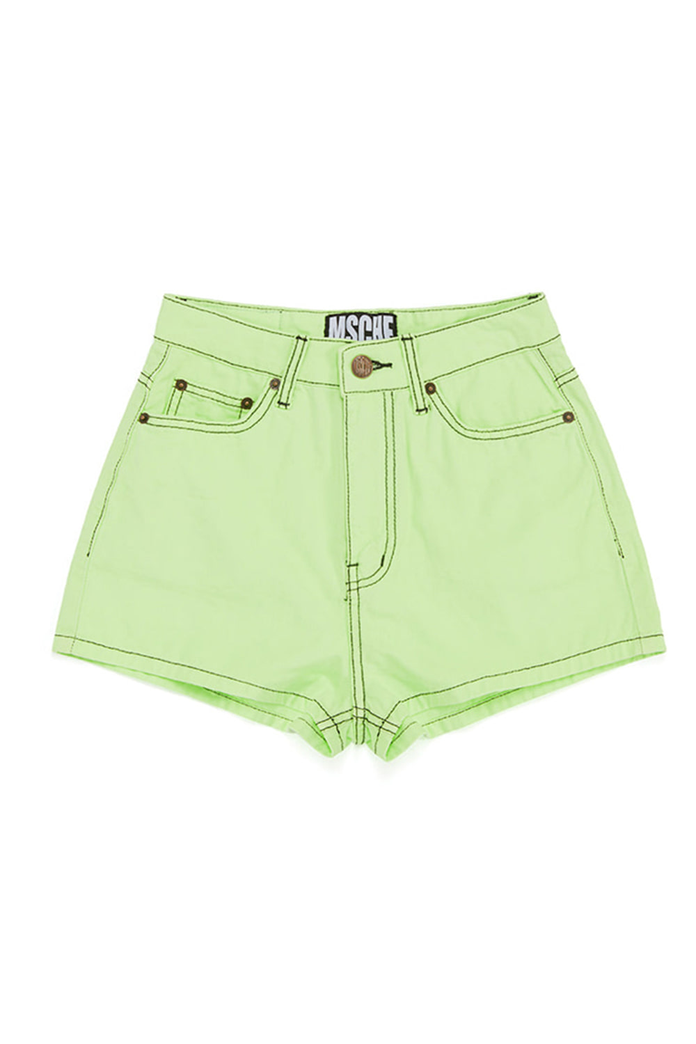 STITCH SHORTS_lime