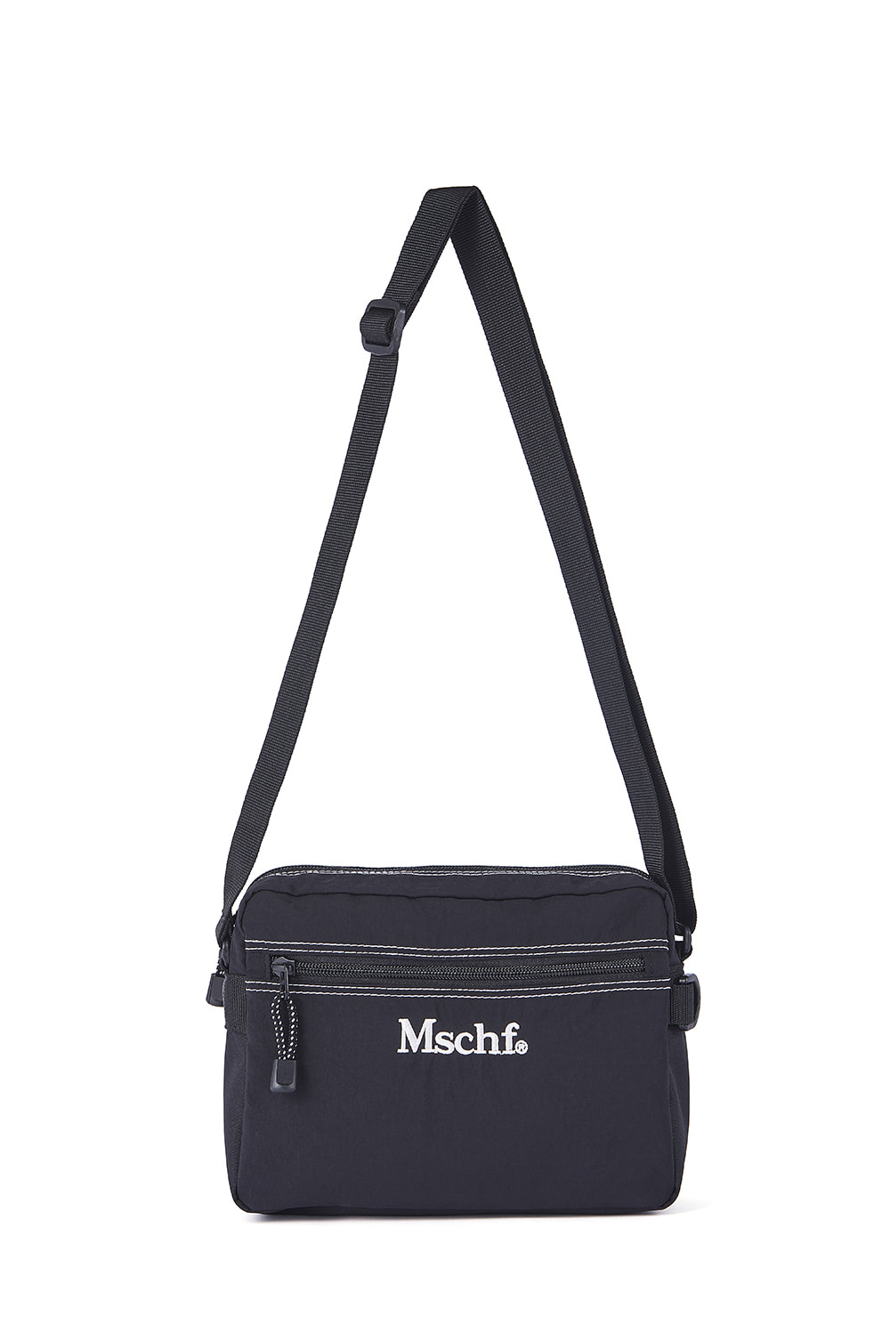 STITCH MINI CROSS BAG_black
