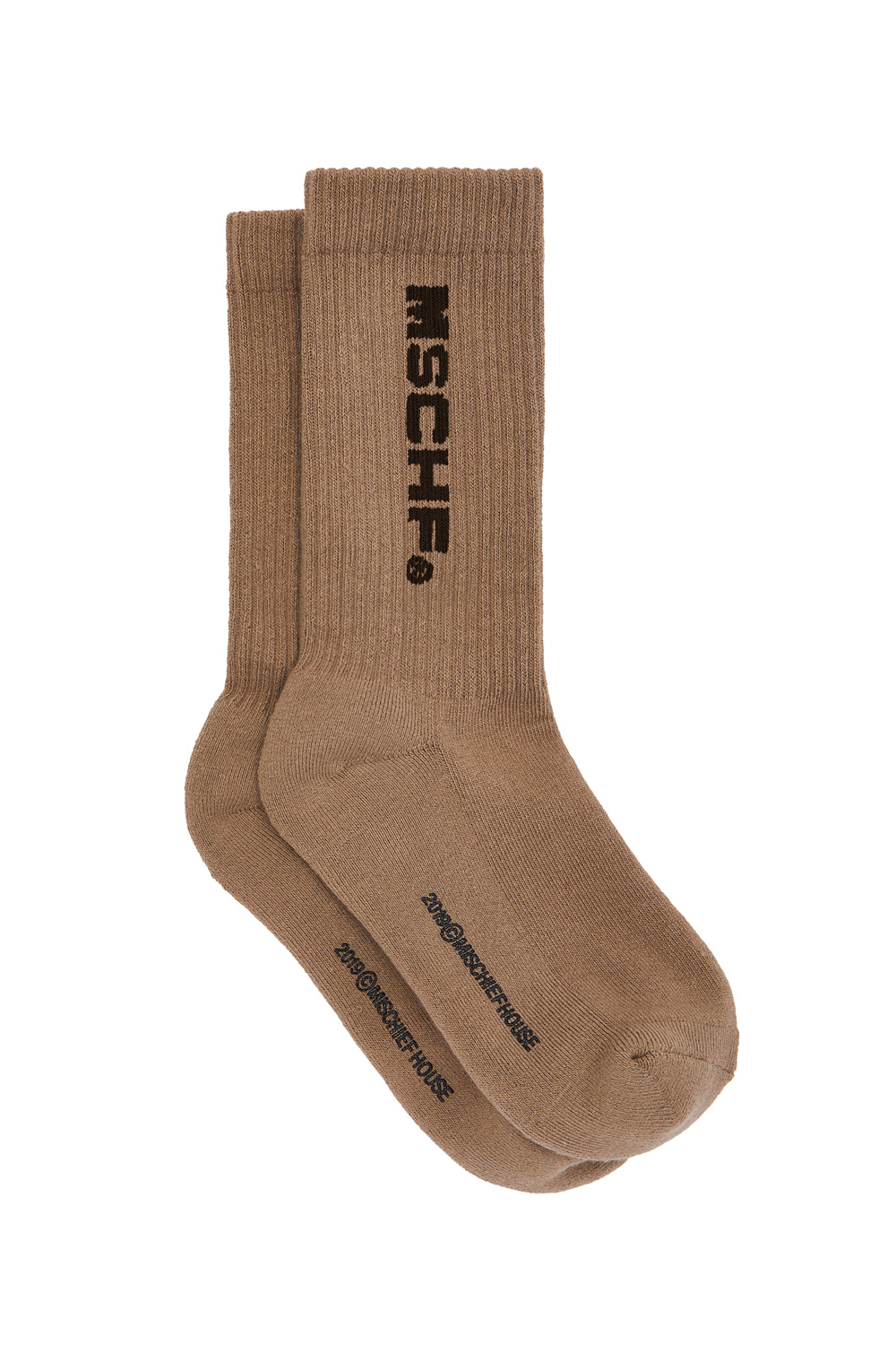 MIDDLE TUBE SOCKS_beige