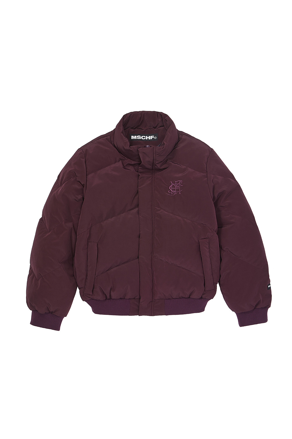 DOWN PUFFER JACKET_purple