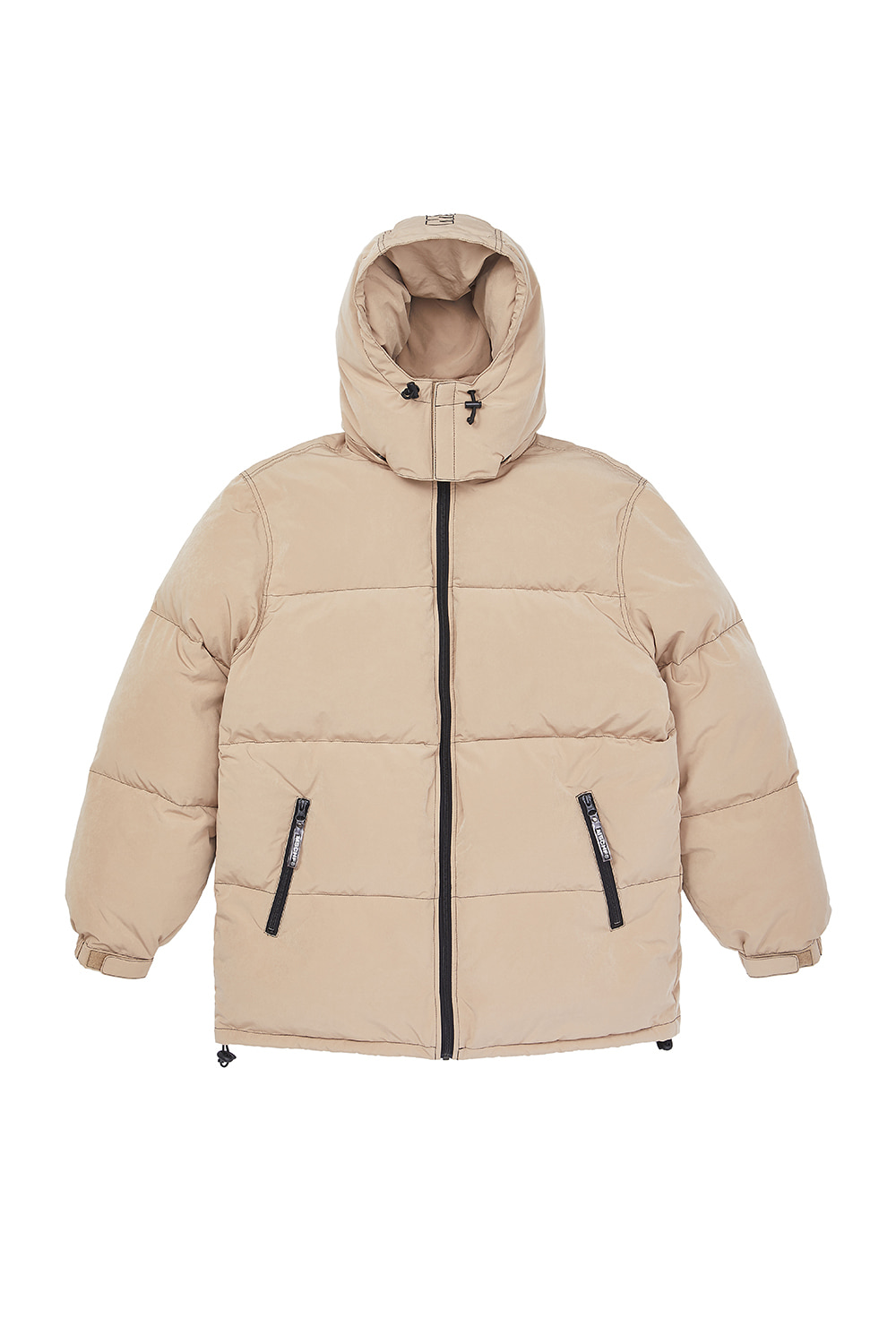 HOODED DOWN PARKA_beige