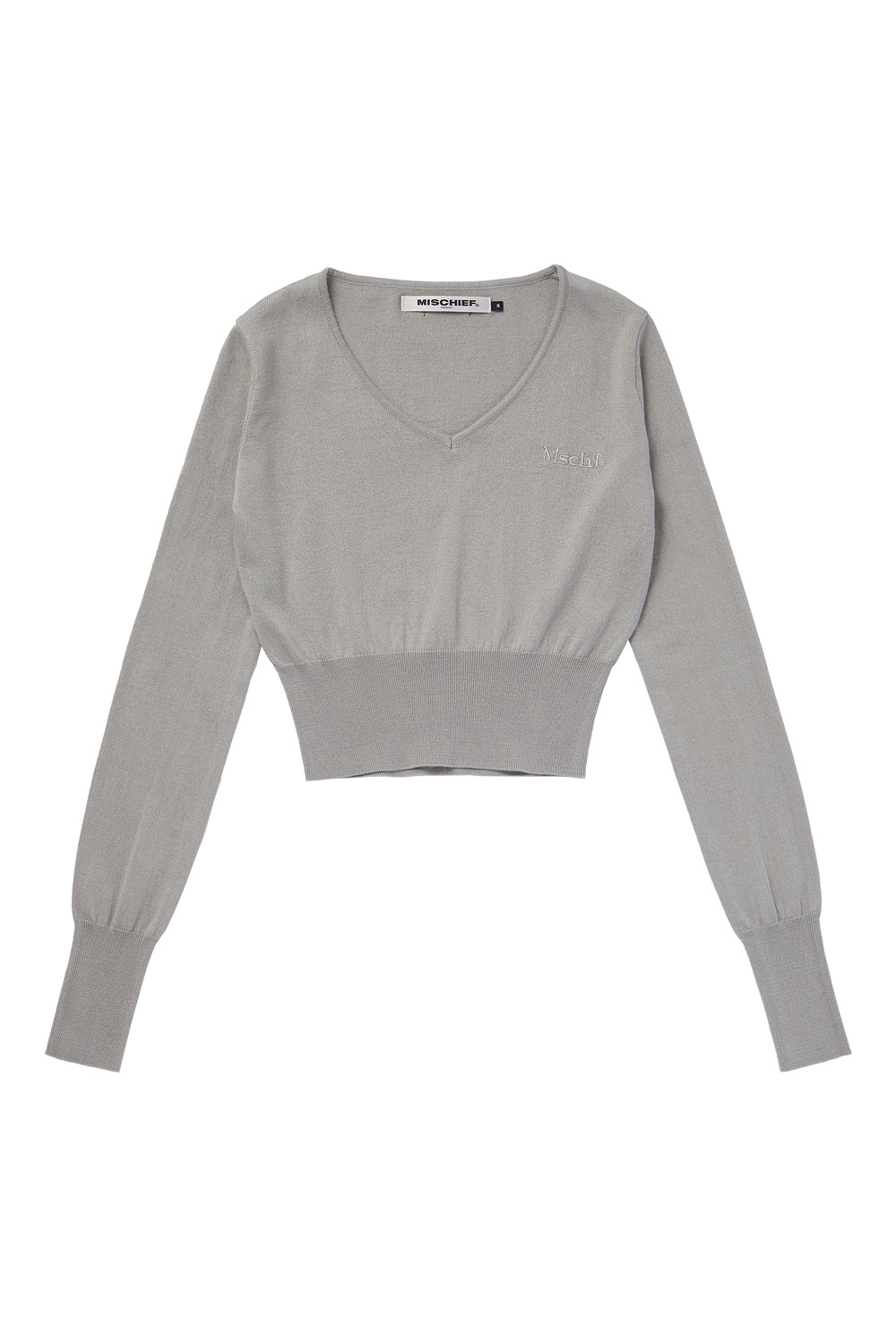 CROPPED KNIT_khaki beige