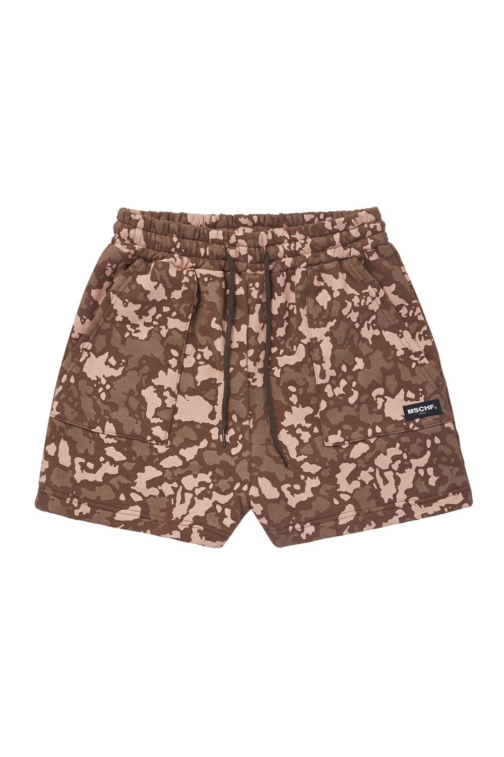 CAMO TRAINING SHORTS_brown multi