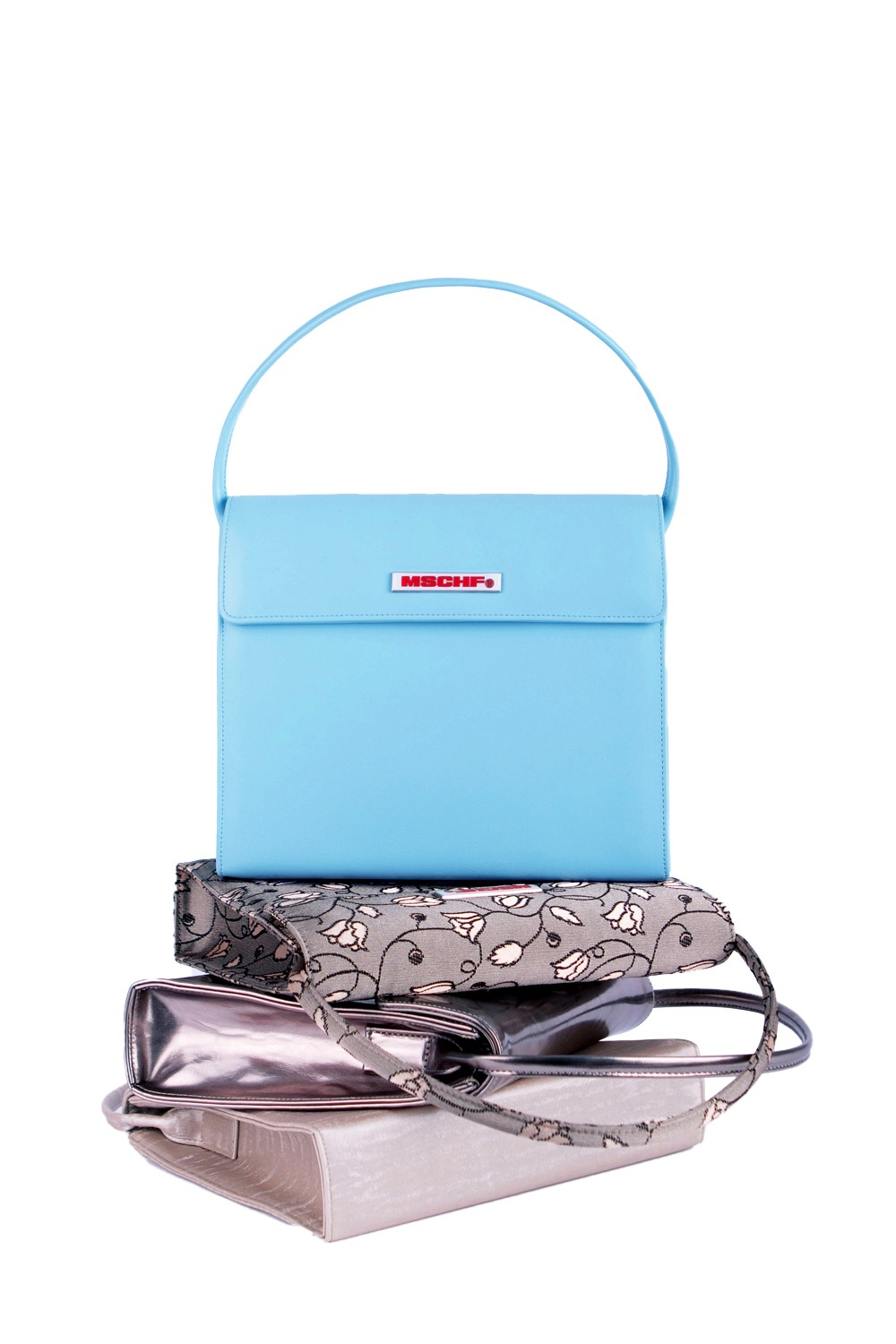 EVENING BAG_pool blue