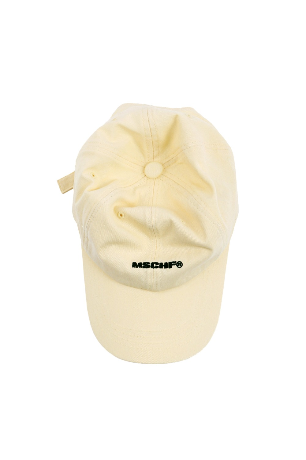 BASIC BALL CAP_lemon cream